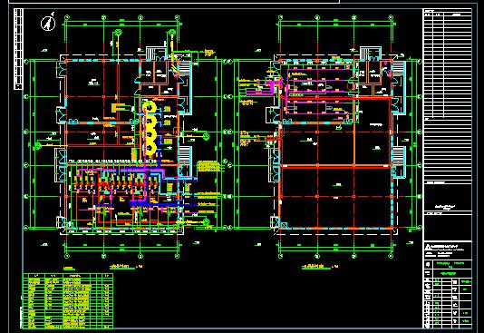 容积式换热器CAD图纸