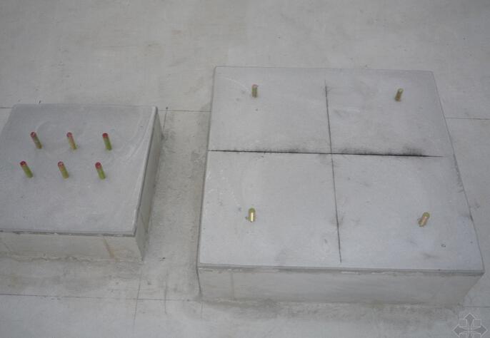 容积式换热器混凝土基础