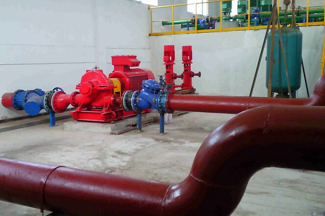 容积式换热器管道安装图